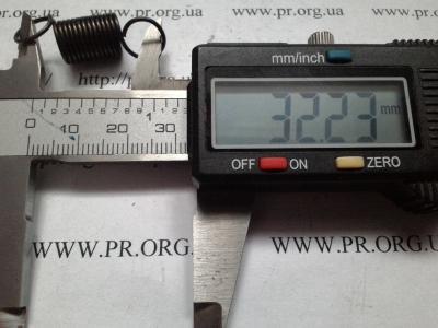 Пружина растяжения 1 х 10 х 32 (Артикул: R6300)