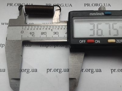 Пружина растяжения 1 х 8,3 х 36,5 (Артикул: R6659)