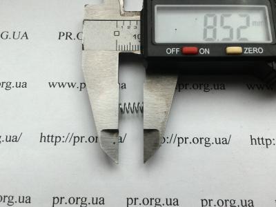 Пружина сжатия 0,4 х 4 х 8,5 (Артикул: S2765)
