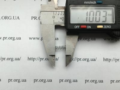 Пружина сжатия 0,4 х 4 х 10 (Артикул: S2766)