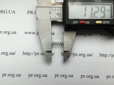 Пружина сжатия 0,4 х 4 х 11 (Артикул: S2767)