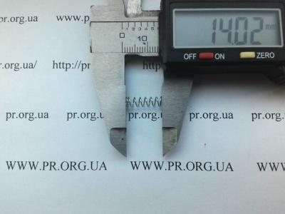 Пружина сжатия 0,4 х 4,2 х 14 (Артикул: S2780)