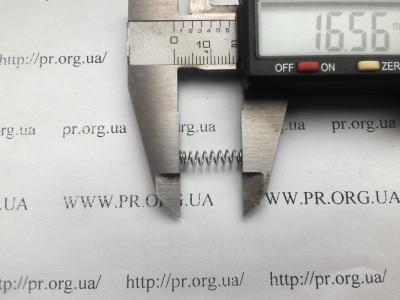 Пружина сжатия 0,5 х 4,2 х 16,5 (Артикул: S5850)