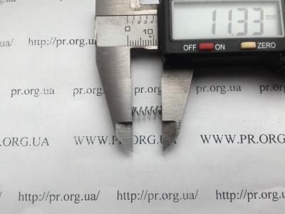 Пружина сжатия 0,5 х 3,8 х 11,5 (Артикул: S5860)