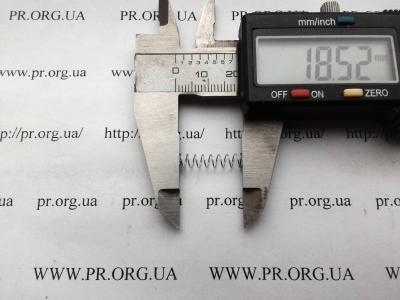 Пружина сжатия 0,35 х 4,2 х 18,5 (Артикул: S6834)